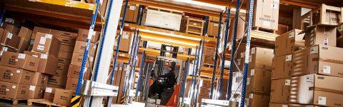 Logistik für Europa – Standort in Fulda