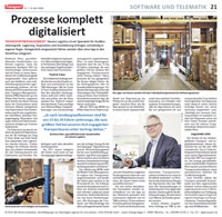 Zeitung - Transport